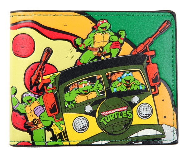 Teenage Mutant Ninja Turtles Pizza Time BiFold Wallet
