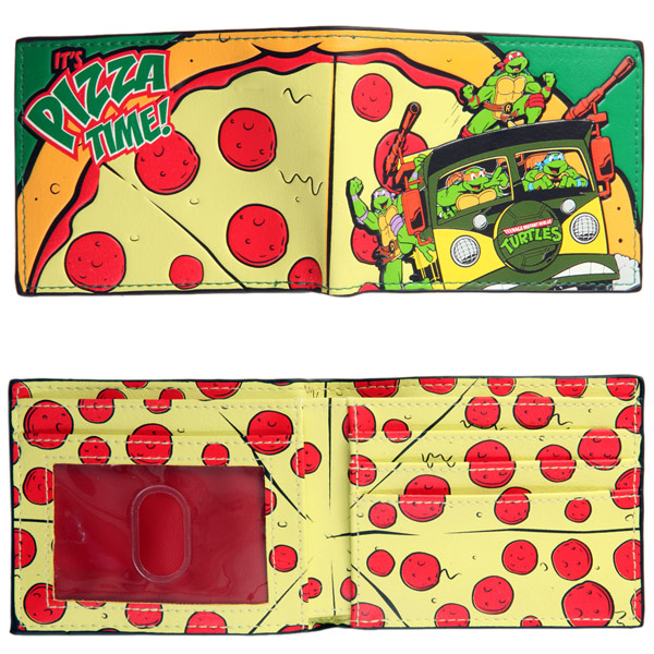 Teenage Mutant Ninja Turtles Pizza Time Wallet