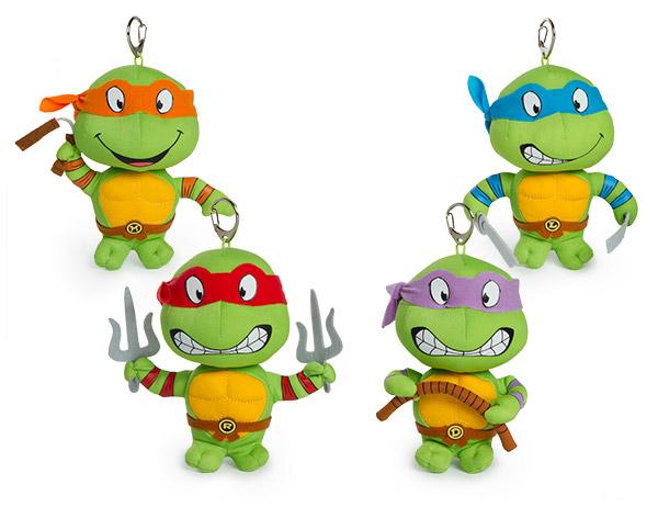Teenage Mutant Ninja Turtles Plush Keychains