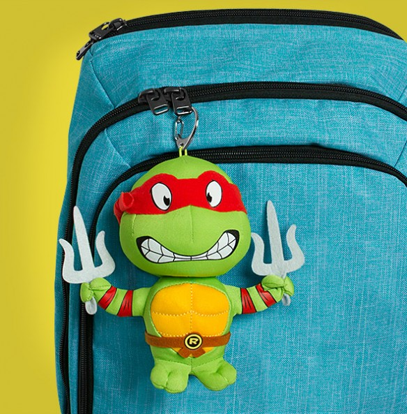 Teenage Mutant Ninja Turtles Plush Keychains