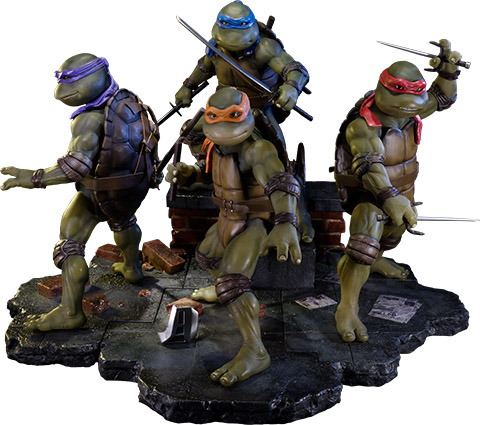 Teenage Mutant Ninja Turtles Polystone Statue Set