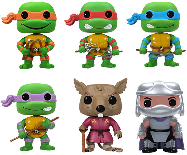 Teenage Mutant Ninja Turtles Pop Vinyl Figures