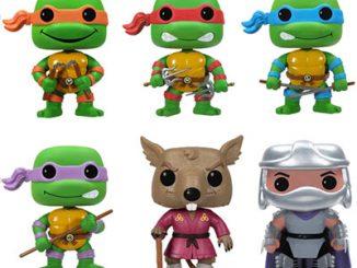 Teenage Mutant Ninja Turtles Pop Vinyl Figures