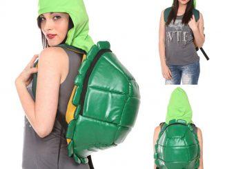 Teenage Mutant Ninja Turtles Shell Hooded Backpack