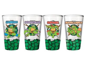 Teenage Mutant Ninja Turtles Team Pint Glass 4-Pack
