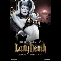 Temptation of Lady Death Premium Format Figure 3