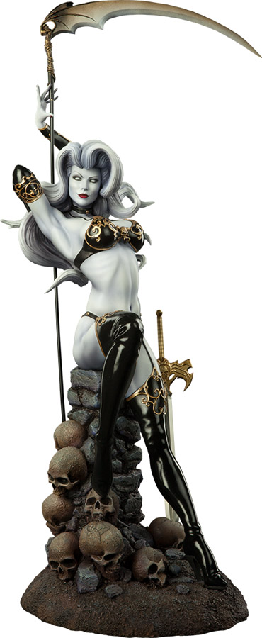 Temptation of Lady Death Premium Format Figure