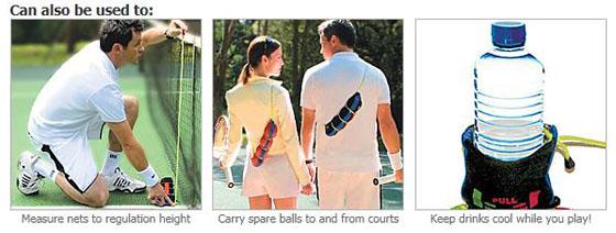 Tennis Ball Dryer Carry Bag
