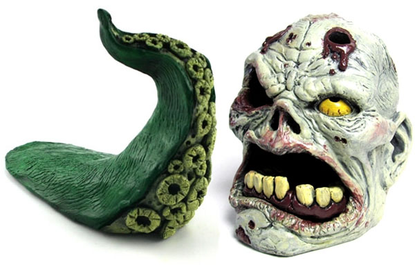 Tentacle Doorstop & Zombie Pencil Holder Giveaway