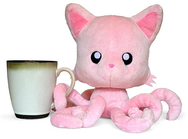 Tentacle Kitty Plush