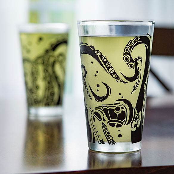 Tentacle Pint Glasses