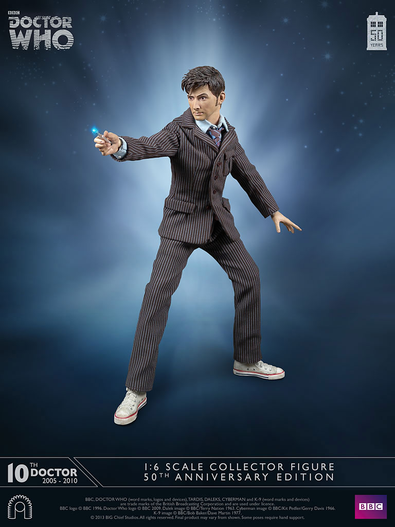 Doctor Who Tenth Doctor 50th Anniversary Limited Edition
