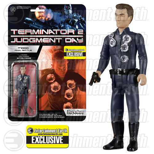 Terminator 2 T-1000 Final Battle ReAction 3 3 4-Inch Retro Action Figure