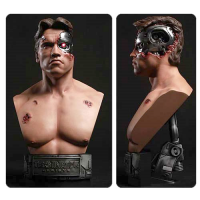 Terminator Genisys Battle Damaged T-800 1-2 Scale Bust