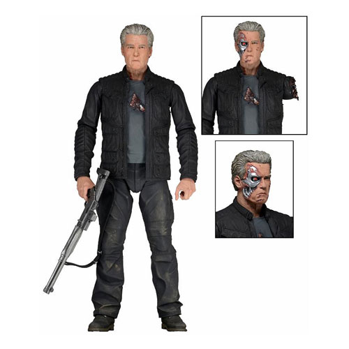 Terminator Genisys T-800 Pops Version 7-Inch Scale Action Figure