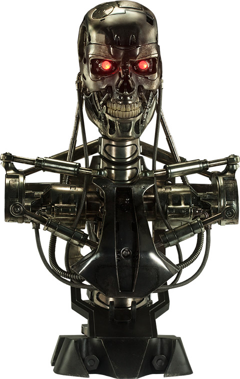 Terminator Life-Size Bust