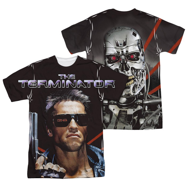 Terminator Poster FB Sublimated T Shirt
