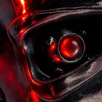 Terminator T-800 Bookends Eye Detail