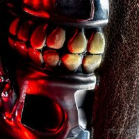 Terminator T-800 Bookends Teeth Detail