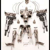 Terminator T 800 Endoskeleton Life-Sized Figure Break Down