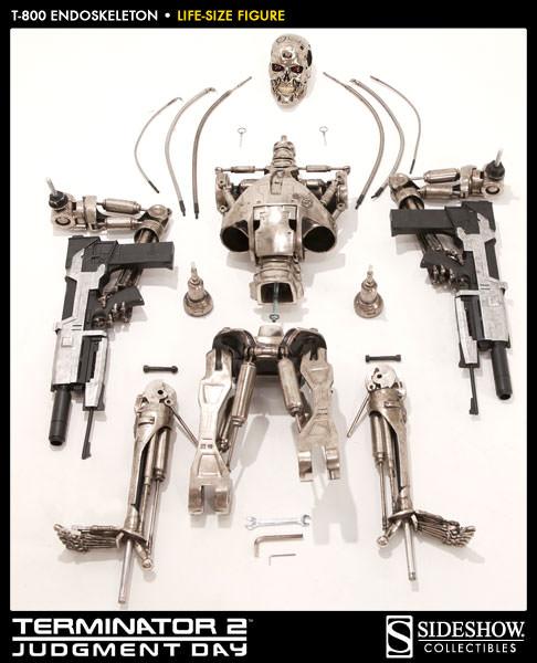 Terminator T 800 Endoskeleton Life Sized Figure