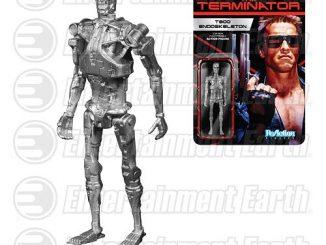 Terminator T-800 Endoskeleton ReAction 3 3 4-Inch Retro Action Figure