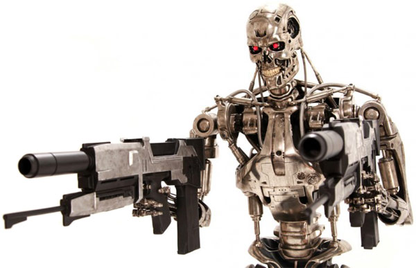 Terminator T800 Endoskeleton Life Sized Figure