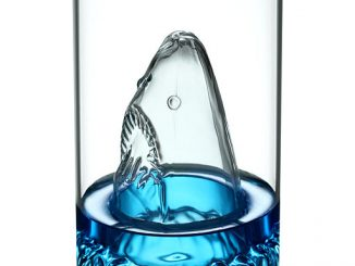 Terror of the Deep Shark Glass
