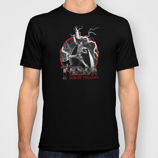 Tesla God of Thunder T-Shirt