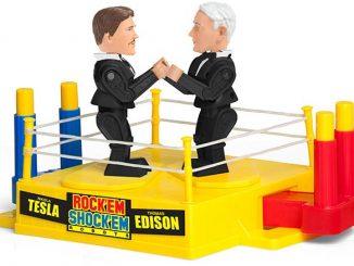 Tesla vs. Edison Rock 'em Shock 'em Robots