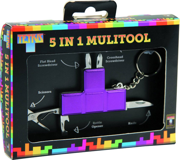 Tetris 5-in-1 Multi-Tool