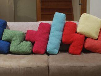 Tetris Cushions