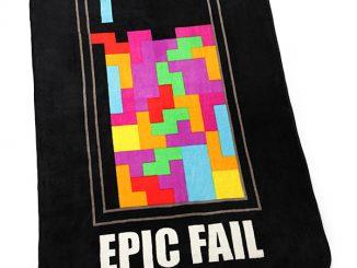 Tetris Fail Blanket