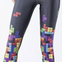Tetris Retro Gamer Leggings