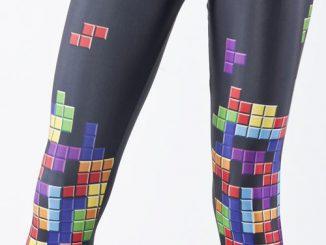Tetris Retro Gamer Leggings