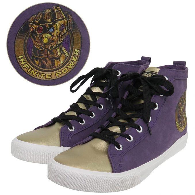 Thanos Infinity Gauntlet High Top Sneakers