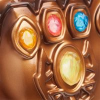 Thanos Infinity Gauntlet Mood Lamp Detail