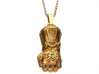 Thanos Infinity Gauntlet Pendant