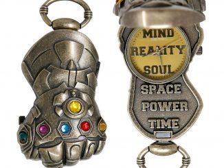 Thanos Infinity Gauntlet Pocket Watch