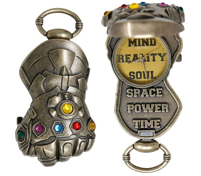 Thanos Infinity Gauntlet Pocket Watch
