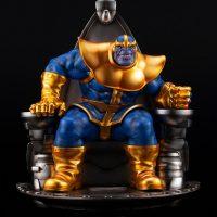 Thanos on Space Throne Fine Art Statue 1