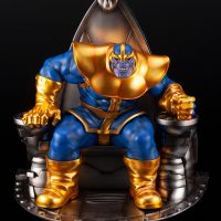 Thanos on Space Throne Fine Art Statue 10