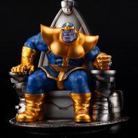 Thanos on Space Throne Fine Art Statue 2
