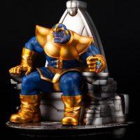 Thanos on Space Throne Fine Art Statue 3
