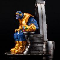 Thanos on Space Throne Fine Art Statue 4