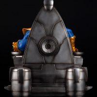 Thanos on Space Throne Fine Art Statue 6