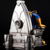 Thanos on Space Throne Fine Art Statue 7