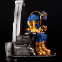Thanos on Space Throne Fine Art Statue 8