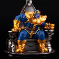 Thanos on Space Throne Fine Art Statue 9