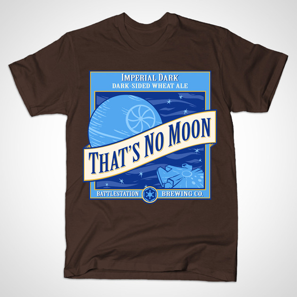 That's No Moon Ale Shirt